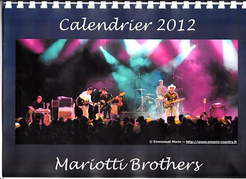 Calendrier MARIOTTI BROTHERS 2012